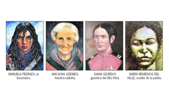 Las mujeres de la Independencia argentina
