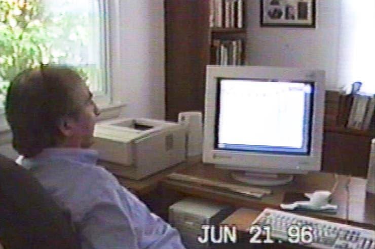 Fotograma del documental que hizo Blas Eloy Martínez, hijo del autor tucumano.
