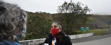 Conflicto durante la cuarentena: piden el juicio oral de dos indigenistas que controlaban la ruta 307