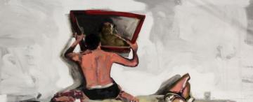 Nelson Velárdez Lai: con su cuerpo como protagonista, experimenta la fusión de pintura y fotografía