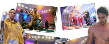 El glamour tocó la puerta del boxeo tucumano