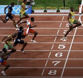 Tras el récord de Bolt: otra carrera en la que tiene pocos rivales