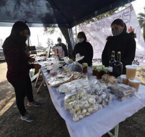 En la pandemia nació una feria de productos orgánicos que da esperanzas en Concepción