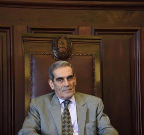 """Antonio Daniel Estofán: """"no viajé a Buenos Aires subrepticiamente"""""""