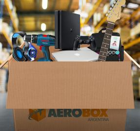 """Aerobox: así funciona el """"puerta a puerta"""" más veloz del país"""
