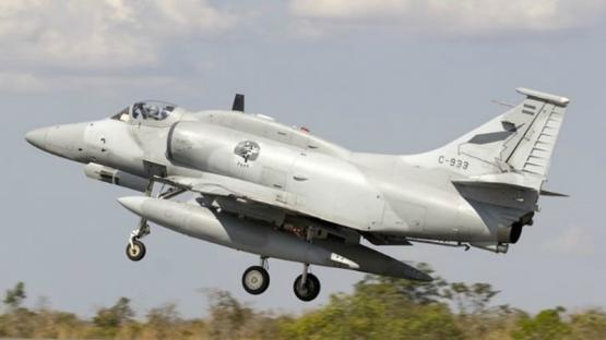 Un piloto murió luego de eyectarse de un avión de la Fuerza Aérea en Córdoba
