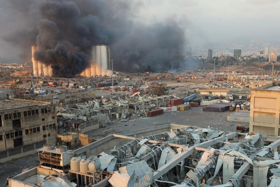 Cifra de fallecidos por la explosión en Beirut asciende a 137