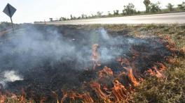 El humo de las quemas agrava la emergencia sanitaria vigente por la pandemia de la covid-19