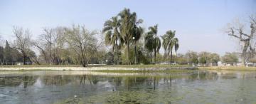El lago San Miguel está sediento