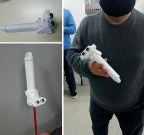 Desarrollo tucumano: crearon un bastón electrónico para ciegos
