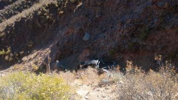 Terán Nougués: la hipótesis principal es que el mal estado del camino generó el trágico accidente