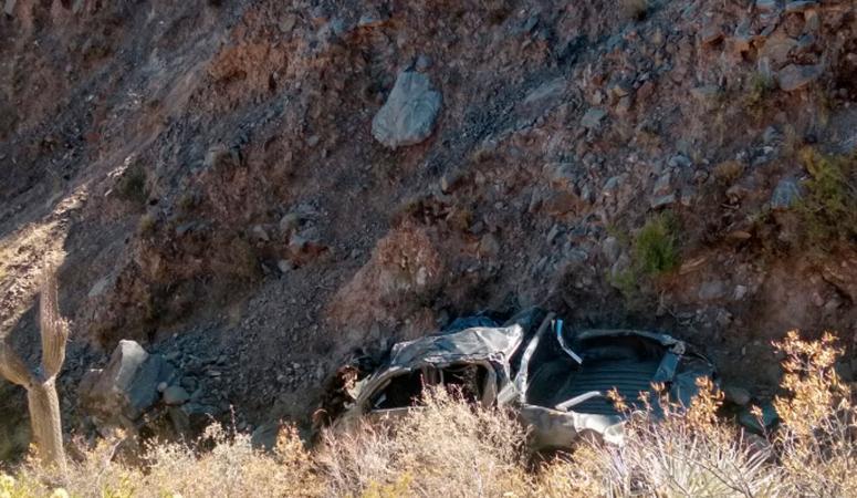 Hallaron muerto a Tomás Terán Nougués: su camioneta estaba en el fondo de un barranco