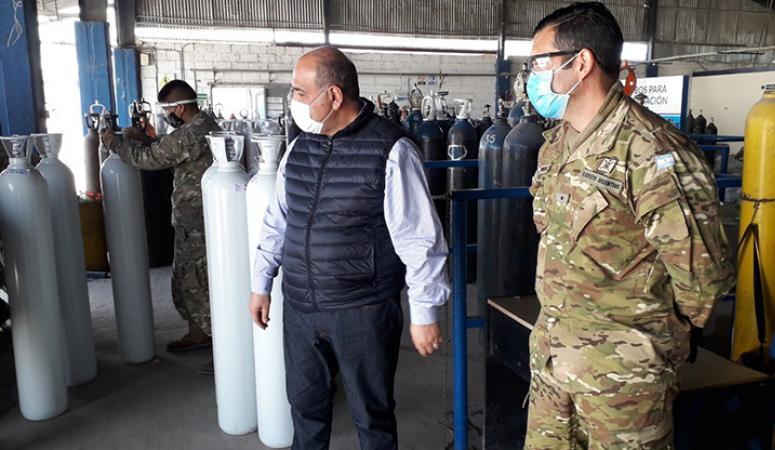 Tucumán envía oxígeno medicinal a Jujuy, que registra un pico de casos de coronavirus