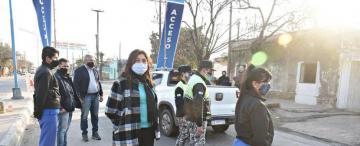 En Alberdi, la pelea es contra el virus, la inundación y el machismo