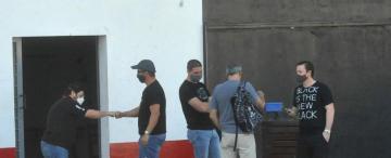 Día de testeos, horas de vigilia en San Martín