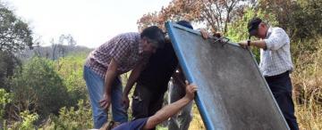 Las familias de El Corte ya llevan 23 días sin agua