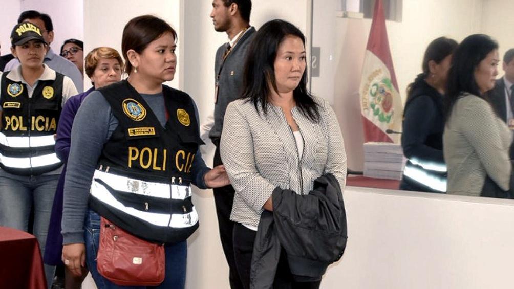 KEIKO FUJIMORI. Dirigente política de Perú, hija del ex mandatario Alberto Fujimori. FOTO Télam (Archivo)