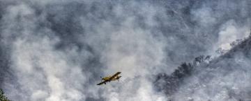 La sequía y el viento alientan el brote de nuevos incendios en las serranías del sur tucumano
