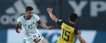 Messi, activo pero no desequilibrante