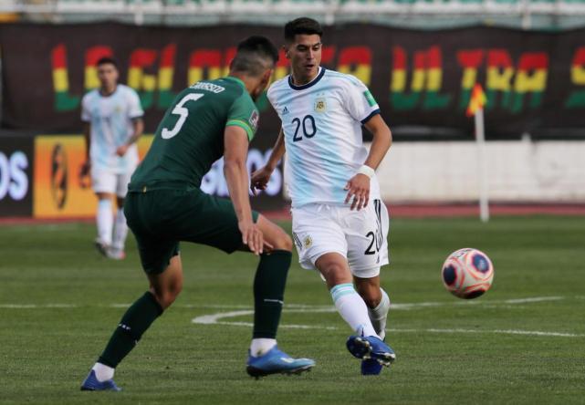 Palacios, la figura de Argentina en la victoria sobre Bolivia en La Paz - LA GACETA Tucumán
