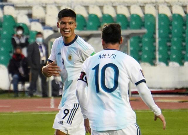 """Con un gol del """"Tucu"""" Correa, Argentina festejó ante Bolivia en La Paz - LA  GACETA Tucumán"""