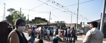 Concepción: acampan frente a la casa del intendente Sánchez para reclamar la reapertura de las ferias