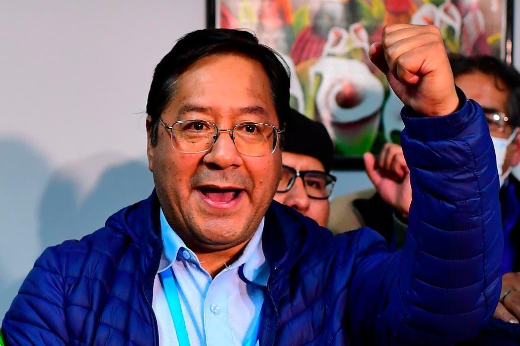 LUIS ARCE, EL PRESIDENTE ELECTO DE BOLIVIA. AFP