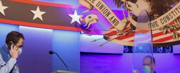 Trump y Biden van a debate por última vez, con el demócrata al frente en las encuestas