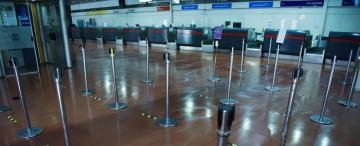 Retornan hoy los vuelos, por ahora, sólo a Buenos Aires