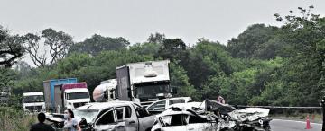 Una mala maniobra en una curva habría causado un mortal accidente en la ruta 38