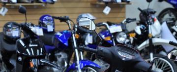 La crisis en la  venta de motos