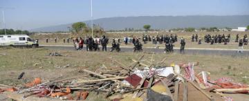 La Justicia agiliza el desalojo de tierras ocupadas