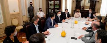 Seguridad, el foco de atención de la reunión de gabinete