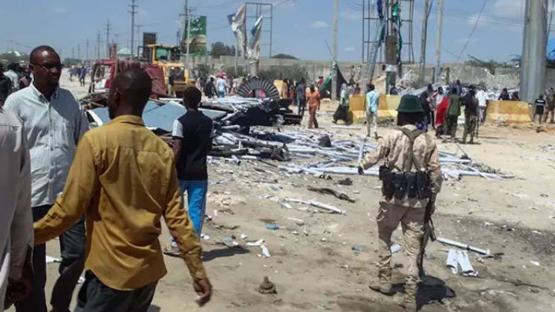 Mueren siete personas en un atentado suicida en Somalia
