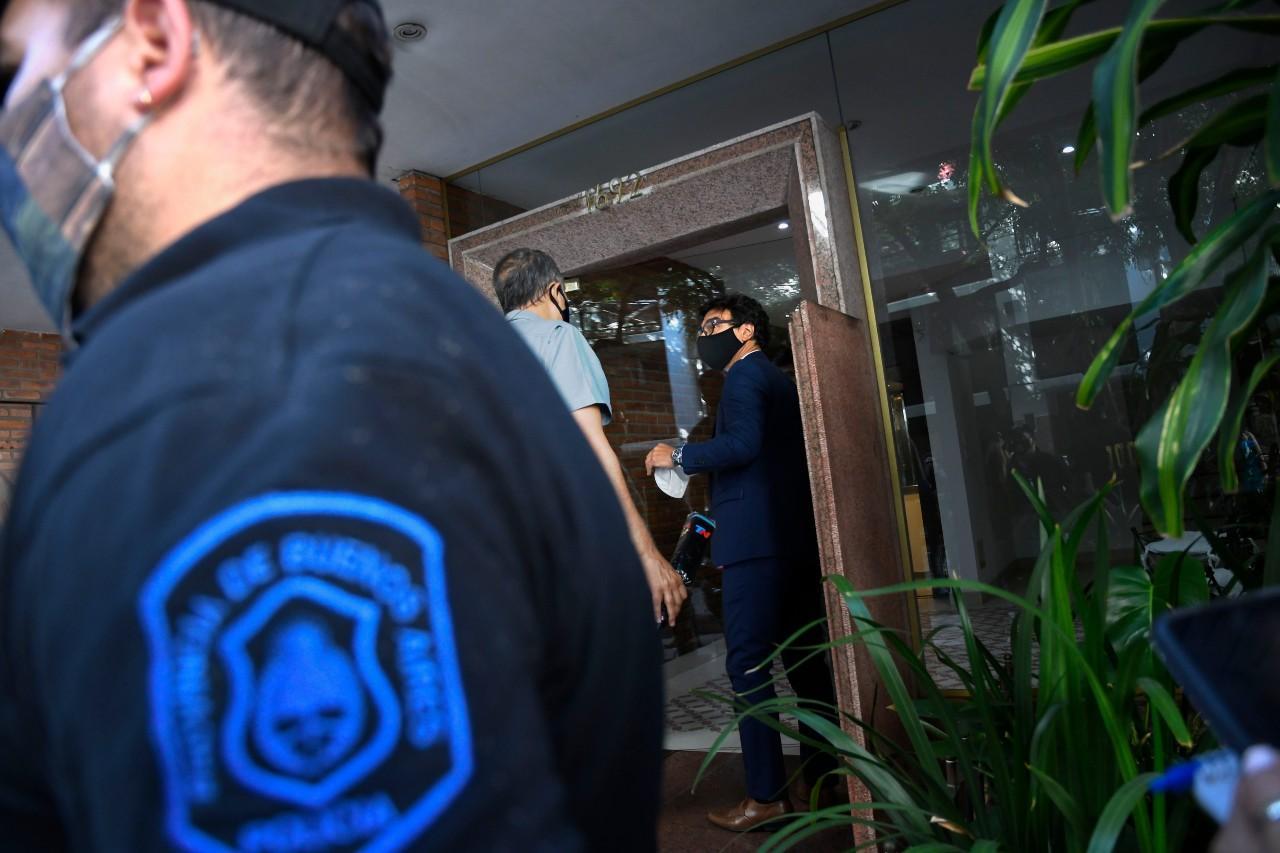 La psiquiatra de Maradona se puso a disposición de la Fiscalía
