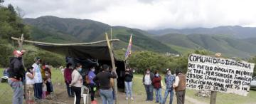 Tensión en Tafí del Valle: qué pasó durante el intento de desalojo en La Quebradita
