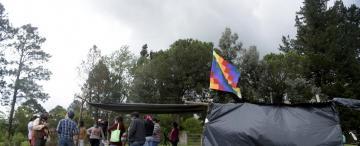 """Tafí del Valle: """"la legislación nos acompaña"""", aseveró el cacique sobre las tomas"""
