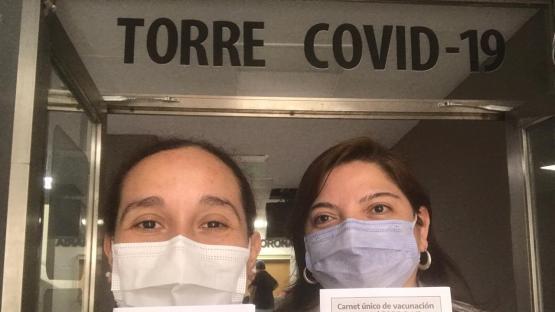 Podcast: una médica cuenta lo que significó ser una de las primeras en vacunarse