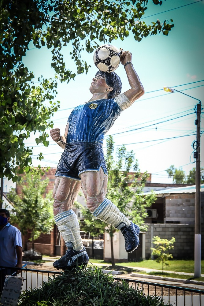 "Este homenaje a Diego Maradona es un ""golazo"""