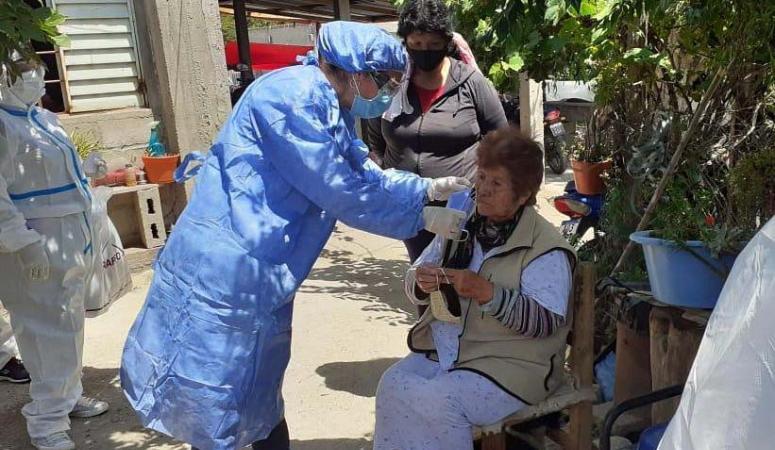 La segunda dosis de la vacuna llega mañana a la provincia