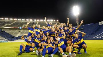 Video: Boca aplastó a River y es el primer campeón de la era profesional de fútbol femenino