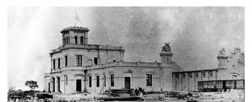 Tucumán retro: la estación de trenes más antigua de Tucumán, en 1870