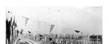 Tucumán retro: de etiqueta para recibir al tren, en 1891
