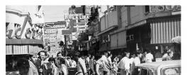 Tucumán retro: San Martín y Muñecas, a fines de los 60