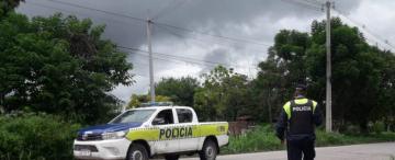 En medio de un operativo policial para custodiar colectivos, asaltaron a dos taxistas