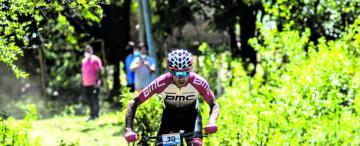 Freno al mountain bike de Tucumán