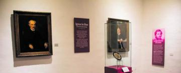 Los retratos de Ignacio Baz dan cuenta de las primeras pinturas que se hicieron en la ciudad