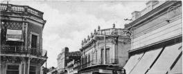 Tucumán retro: el viejo tranvía, por la calle Laprida