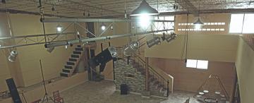 El Cadillal tiene su primera sala teatral, con espacio para 200 butacas