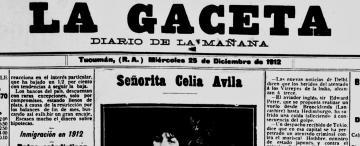 Mujeres de nuestra provincia: Celia Ávila